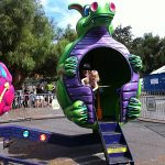 Spinning Dragon Ride at the Clayton Oktoberfest Carnival