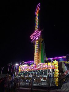 The Rock Star carnival ride at the Clayton Oktoberfest